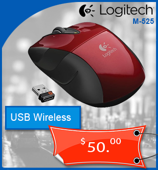 Mice-Souris-Wireless-Sans-fil-Logitech-M525-Rouge-50cad-en