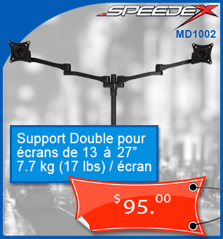 TV-Support-Mural-SpeedeX-MD1002-13-to-27in-40kg-88lbs-95cad-fr