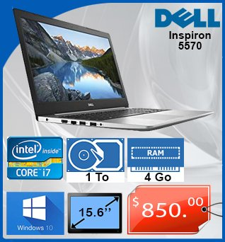 Laptop-Dell-Inspiron-5570-15_6in-i7-1_80GHz-1TB-4GB-W10-850cad-fr