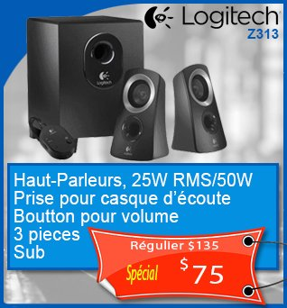 Speakers-Logitech-Z313-3pc-Sub-25Wrms_50w-75cad-fr