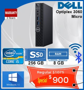 Desktop-Dell-Optiplex-3060-Micro-i5-2_7GHz-256GBssd-8GB-WiFi-BlueToothW10-900cad-en