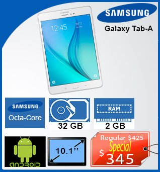 Tablet-Samsung-Galaxy-TabA-10_1in-32GB-1_6GB-Android-345cad-ANGLAIS